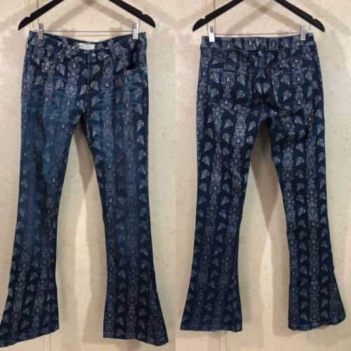 Free People Just Float On Printed Flare Bell Botto