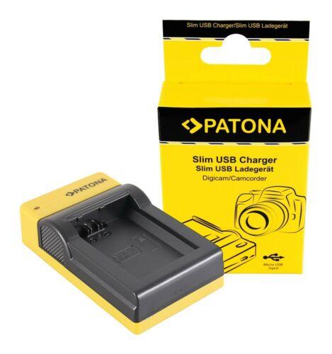 Sony np-fw50 Nex a33 a55 nex.3 nex.3c nex.5 n Patona slim micro-USB cargador F