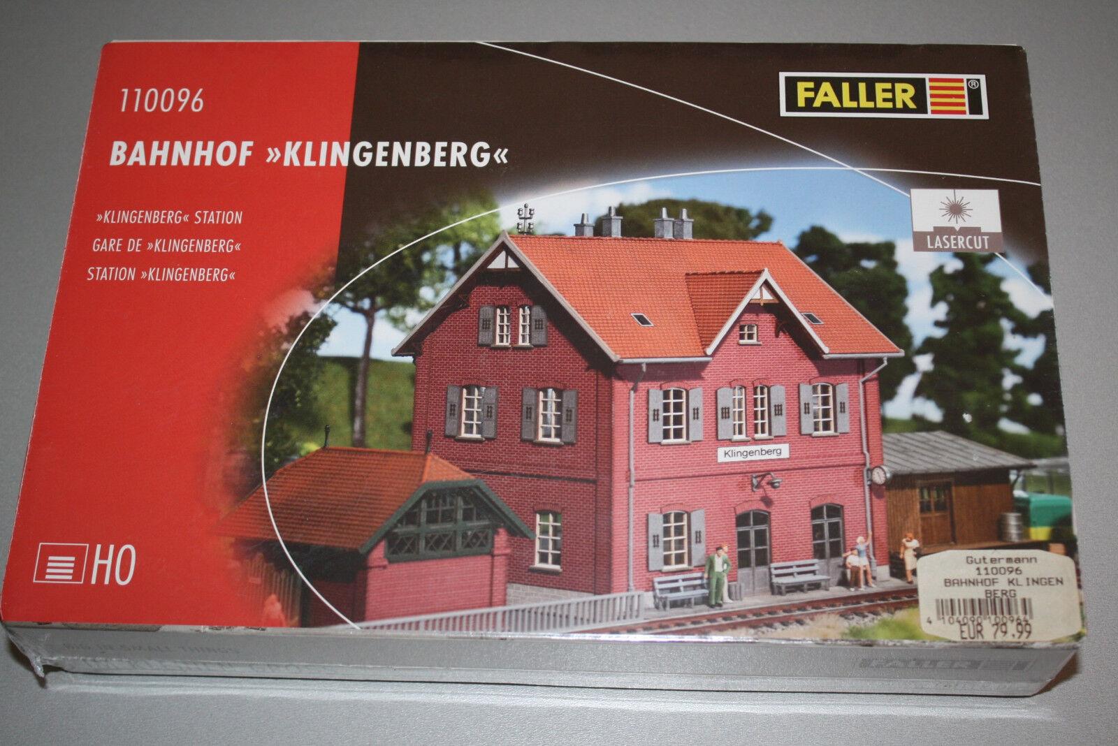 Faller 110096 Kit Lasercut stazione ferroviaria lame montagna traccia h0 OVP