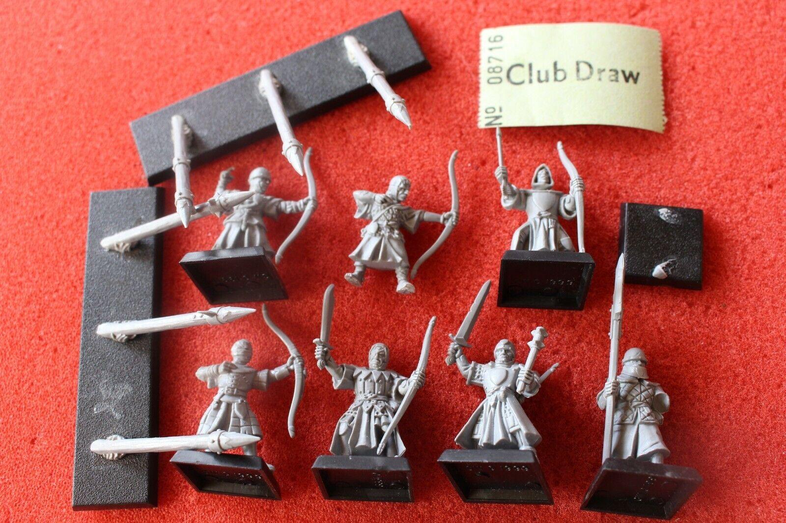 Games Workshop Warhammer Bretonnian Peasant Archers Bowmen Regiment Bretonnia B
