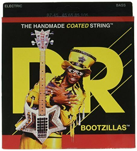 DR Strings Bass Strings, Stiefelzillas - Stiefely Collins Signature täckaed, 45-105