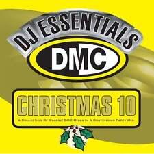 DMC DJ Essentials Vol Christmas 10 - Monsterjam Xmas Continuous Party Mix CD
