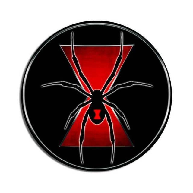 Vinyl Sticker Waterproof Decal Black Widow Spider