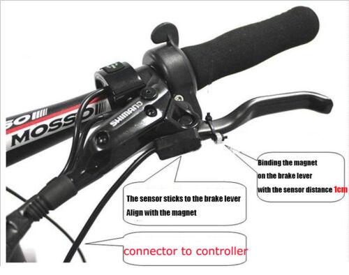 2x ebike Hydraulic brake sensor with SM2A plug brake cut off sensor switch ebike