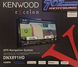 2014 kenwood excelon dnx891hd 2 din navigation gps dvd. Black Bedroom Furniture Sets. Home Design Ideas