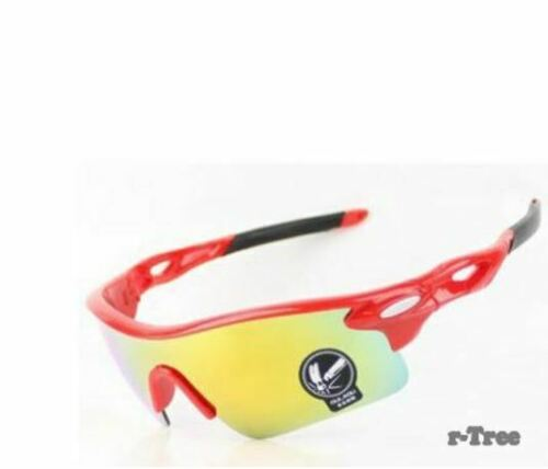 Men Women Cycling Glasses Outdoor Sport Mountain Bike with Protective Case Free
