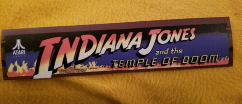 Indiana Jones T.O.D Buy 3 stickers, GET ONE FREE! Decal 2 3//8 x 10.75.