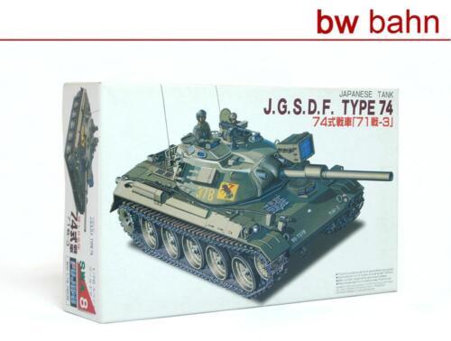 Tank Japanischer Panzer Typ 74 Neu Fujimi 1:76 76038 Modellbausatz J.G.S.D.F
