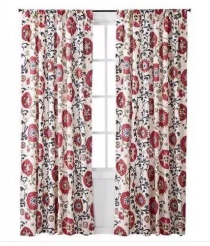 Target Mudhut Curtain One Window Panel Makayla Multicolor 55x84 For Sale Online Ebay