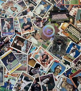 lot-500-different-BALTIMORE-ORIOLES-BASEBALL-CARDS-Cal-Ripken-Jr-Jim-Palmer-more
