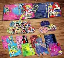 Sailor Moon Season 1 Complete - English Dubbed (7DVDs + 3CDs)