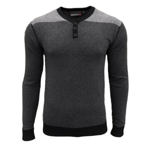 Duck and Cover homme Hudson en mailles Rayée Top Tops Pull Pulls Sweater