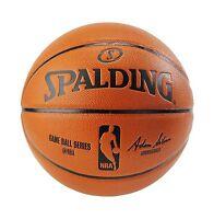 Spalding Nba Indoor/outdoor Replica Game Ball Official Size 7 (... Free Shipping
