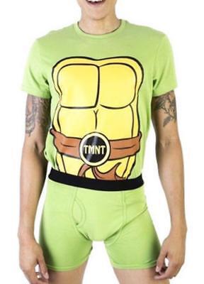 Underoos Hombre Las Tortugas Ninja Camisa & Bóxer Nuevo S,m,l,xl Driving A Roaring Trade Men's Clothing