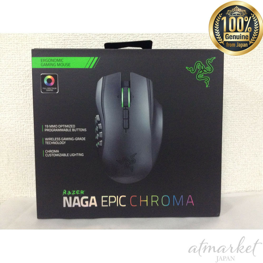 767c0808154 Razer NAGA Epic Chroma MMO Wireless/Wired Gaming Mouse for sale ...