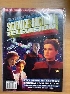 CINESCAPE-039-S-1995-Science-Fiction-Fernsehen-Yearbook-Star-Trek-Voyager-P3