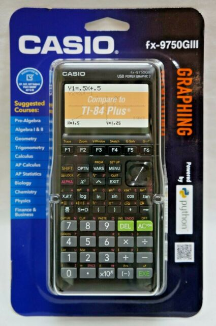 Casio fx-9750GIII Graphing Calculator - Black