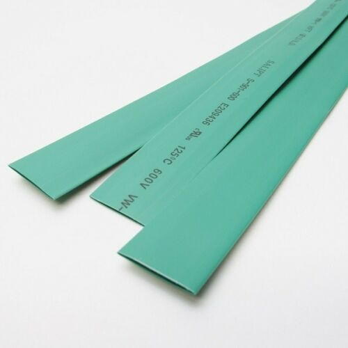 "3//8/"" ID Green Heat Shrink Tube 2:1 ratio polyolefin 25 ft inch//feet//to 10mm"