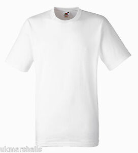 6-100-COTTON-FRUIT-OF-THE-LOOM-WHITE-T-SHIRTS-S-XXL
