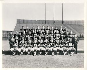 1964 Green Bay Packers 8x10 Original Lefebvre Photo