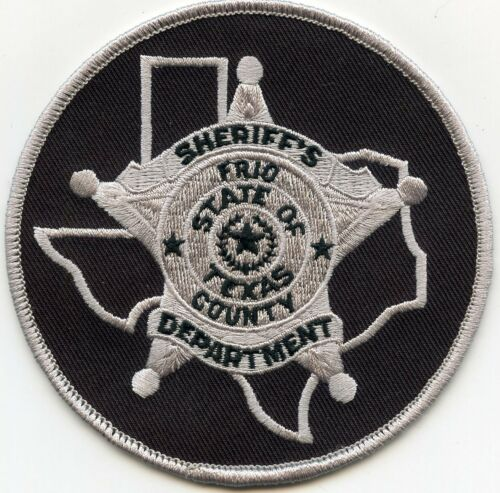 FRIO COUNTY TEXAS TX round SHERIFF POLICE PATCH