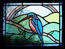 Incorniciato stampa-Stained Glass window effetto di un volatile da cortile (foto poster arte animali)