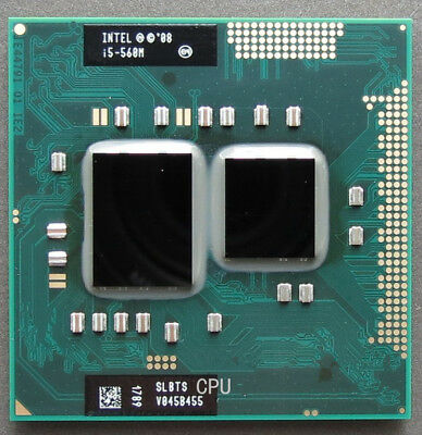 CP80617005487AA Intel Core i5-560M SLBTS 2.66 GHz Dual-Core Processor CPU