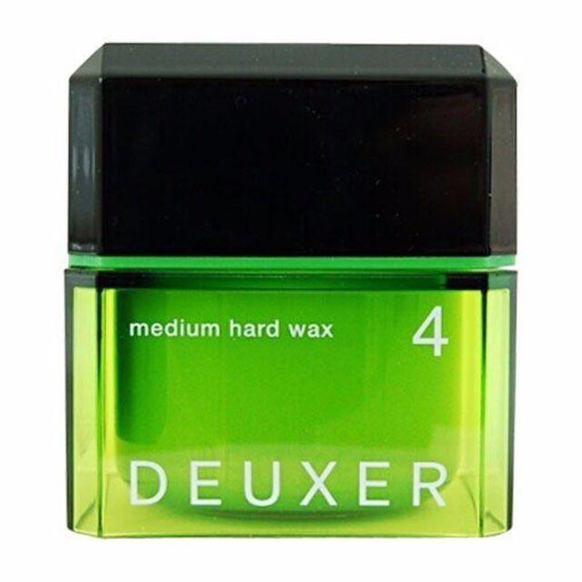 ☀ Number Three DEUXER Medium Hard Wax 4 Hair Styling 80g 2.8oz Made in Japan ☀