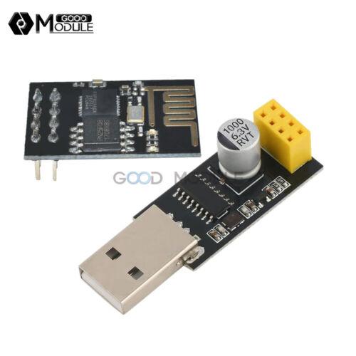 USB to ESP8266 ESP-01 CH340G Serial Transceiver Wifi Adapter Development Board