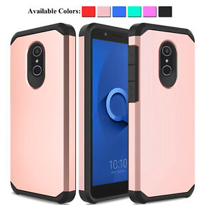 Details about For Alcatel TCL LX A502DL / 1X Evolve / IdealXTRA Hybrid  Rugged Phone Case Cover