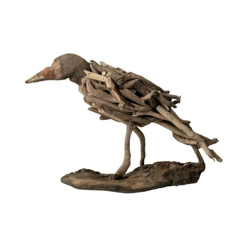 Elk Lighting Natural Driftwood Bird 356002 Brown