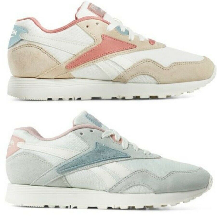 Reebok Rapide Zapatos tenis de correr gris Zapatillas DV8338 Sz4-12