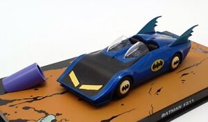 Eaglemoss-modello-IN-SCALA-1-43-AUTO-311-Batman-Batmobile-Nero-Blu