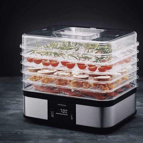 Digitaler Dörrautomat Gastronoma Dörrgerät 5 Ebenen Obsttrockner Food Dehydrator