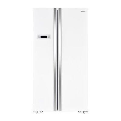 KENWOOD KSBSW17 American-Style Fridge Freezer - White - Currys