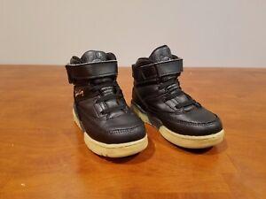 f2b405a6a2 Ewing Athletics Ewing 33 Hi Black Gold Basketball Shoes 7EW90124-046 ...