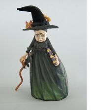 Katherine's Collection Halloween Spellbound Witch W/ Cat Figurine Display New