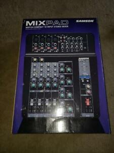 Samson-MixPad-MXP-124-FX-Compact-12-Input-Analog-Mixer-DJ-amp-Studio-NEW