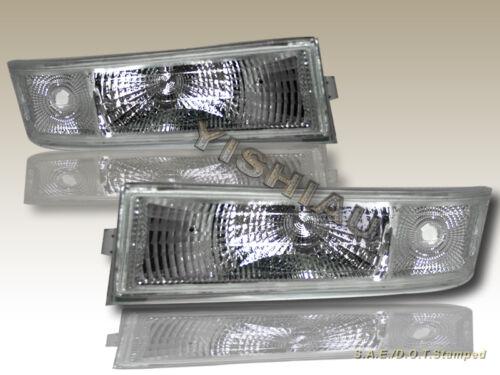 1995-2005 CHEVY ASTRO VAN CRYSTAL CLEAR HEADLIGHTS BUMPER  SIGNAL LIGHTS 4PCS