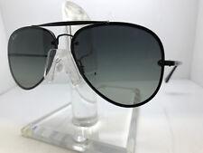 29e7b9363743c Ray Ban Blaze Aviator Rb3584n 153 11 61mm Sunglasses Black Grey Gradient  Lens
