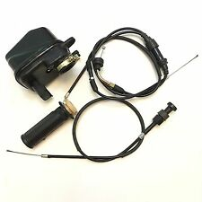 PW50 Air Filter Throttle & Choke Cables and Throttle Grip for Yamaha PW50 PY50