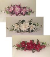 24 Silk Crinkle Magnolia Swag Artificial Flower Home Wedding Centerpiece Decor