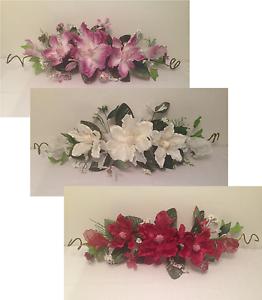 24 silk crinkle magnolia swag artificial flower home wedding image is loading 24 034 silk crinkle magnolia swag artificial flower junglespirit Choice Image