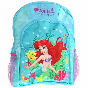 Image Is Loading Disney The Little Mermaid Backpack S