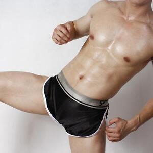 Short-satin-brillant-noir-taille-L-superbody-by-neofan-Ref-101