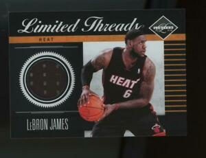 2011-Panini-Limited-Threads-LeBron-James-77-99-Game-Used-Jersey
