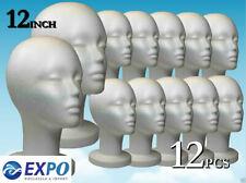 Wig Styrofoam Head Foam Mannequin Display Mask 12 12pcs