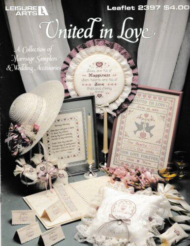 United In Love Cross StitchLeisure Arts 2397 Marriage Wedding