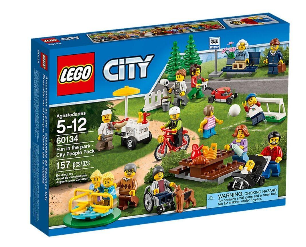 YRTS Lego CITY 60134 Diversión en el Parque  Gente de la Ciudad ¡Nuevo en Caja