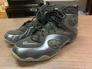 san francisco 86fa4 133ae Image is loading Nike-Air-Zoom-Rookie-Black-Anthracite-Foamposite-Shoes-